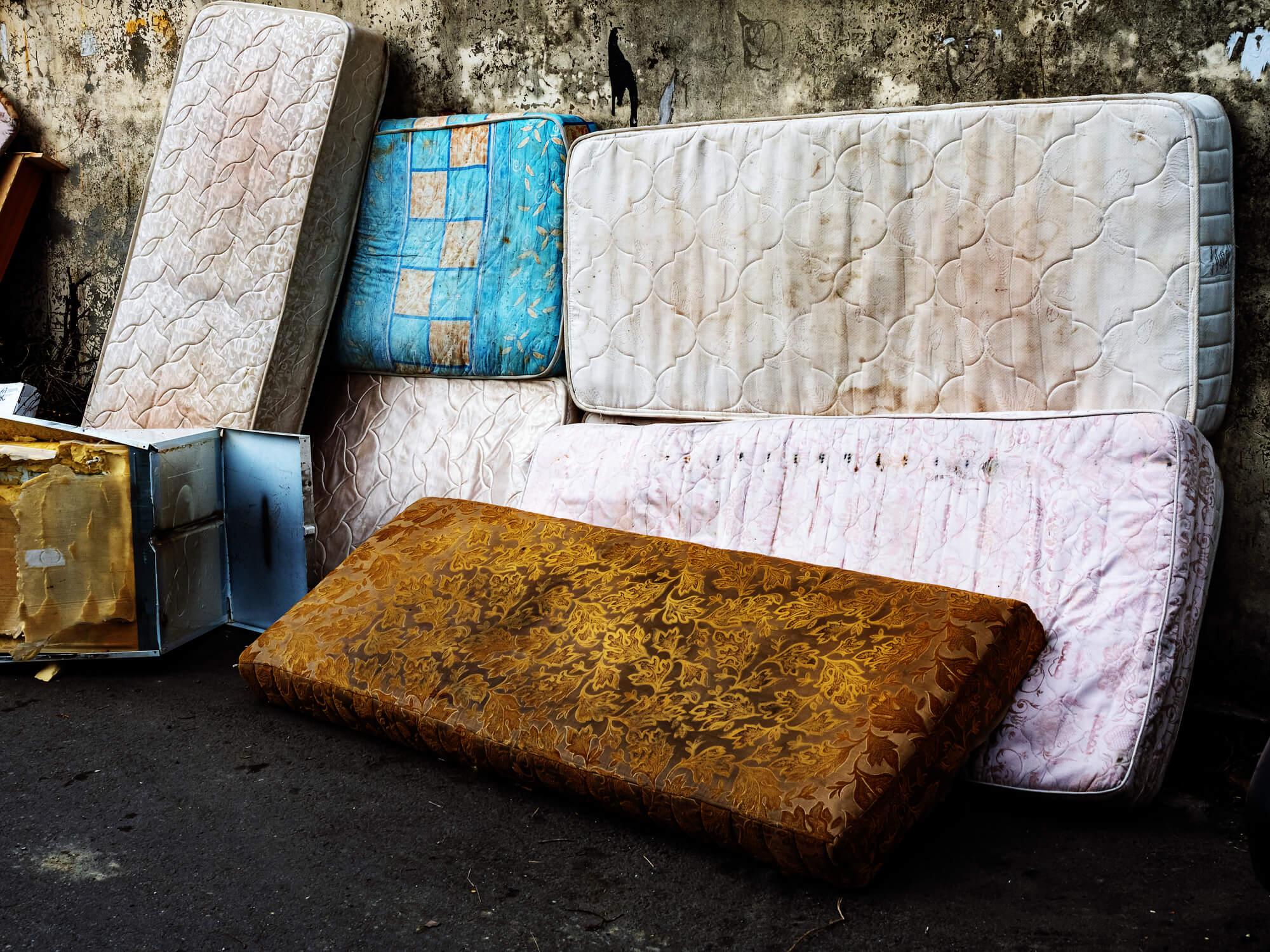 matras recyclen of doneren