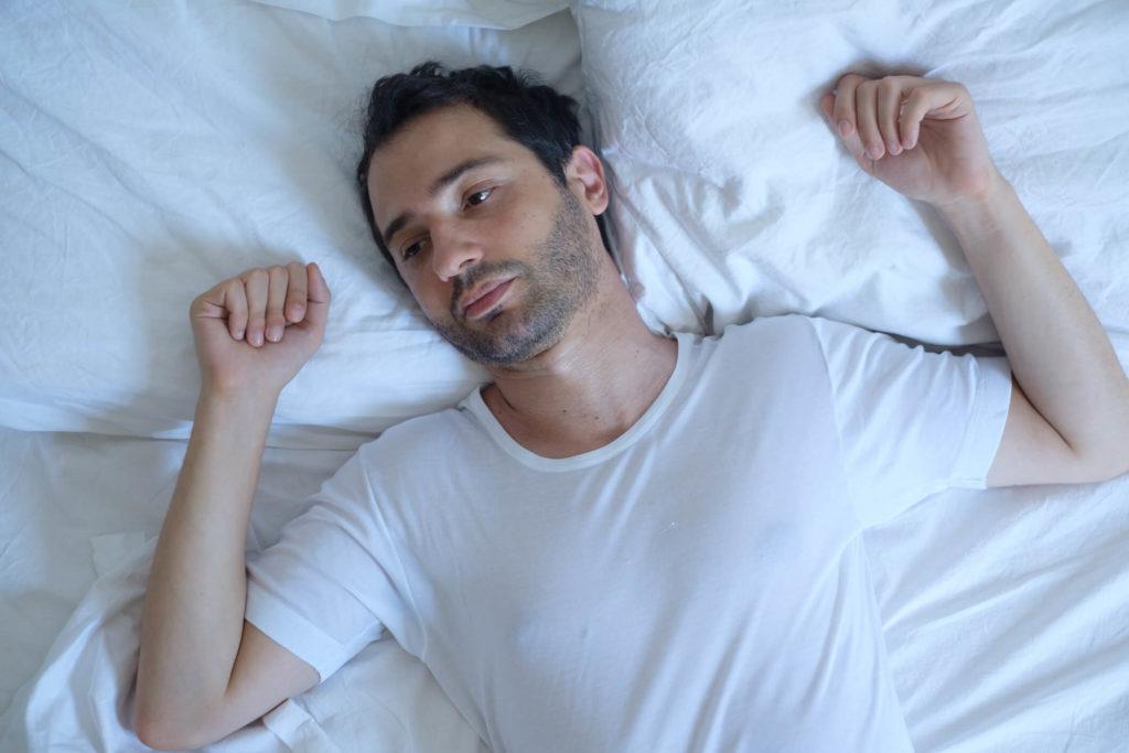 Man heeft problemen met slapen en heeft geen oplossing