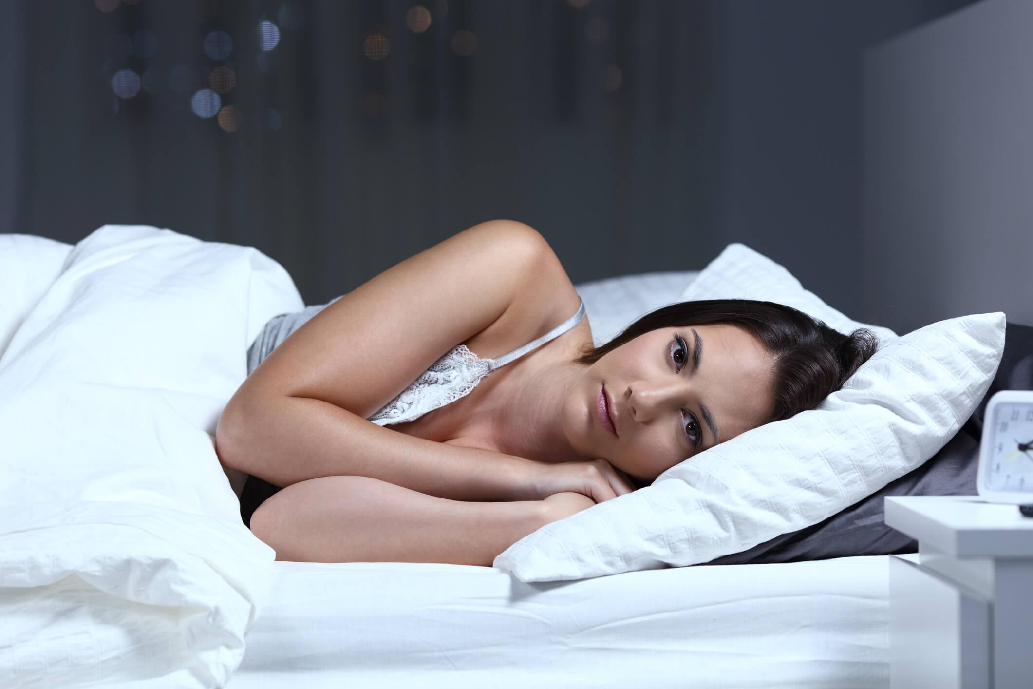 Vrouw heeft problemen met slapen en heeft geen oplossing