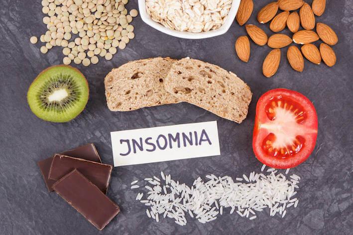 Insomnia en eten