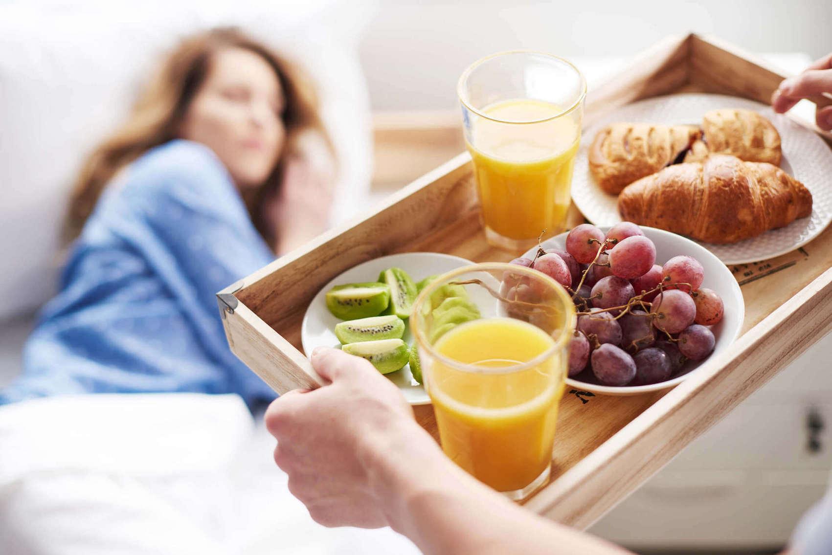 voedingsmiddel en slapen