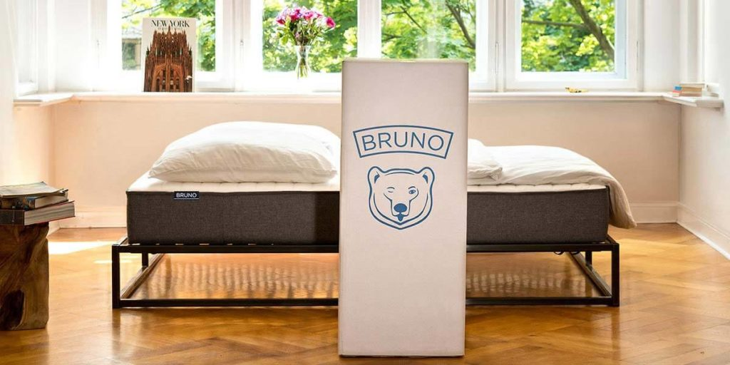 Metalen bed - Bruno